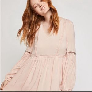 Baby Pink Babydoll Dress